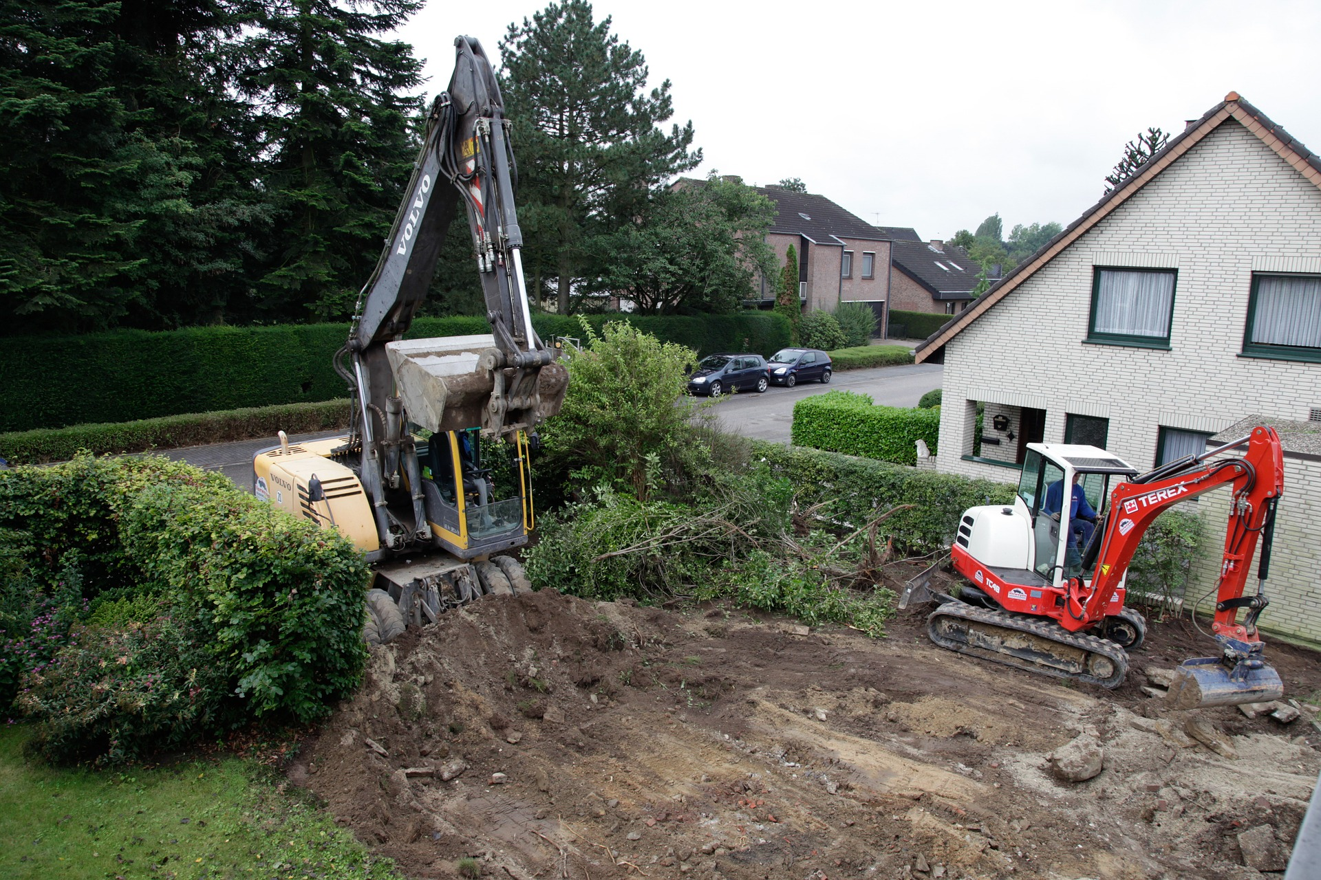 Comment Faire Un Terrassement En Pente terrassement jardin en pente -